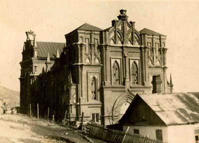 храм в 40-е годы